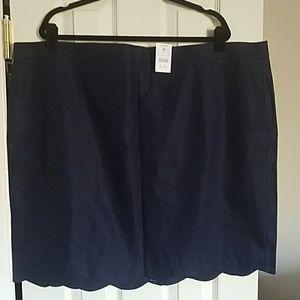 J. Crew Scalloped-cut Pencil Skirt